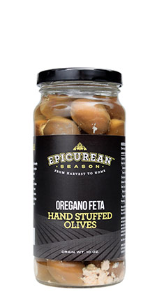 Oregano Feta Hand Stuffed Olives