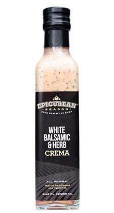 White Balsamic & Herb Crema 250ml